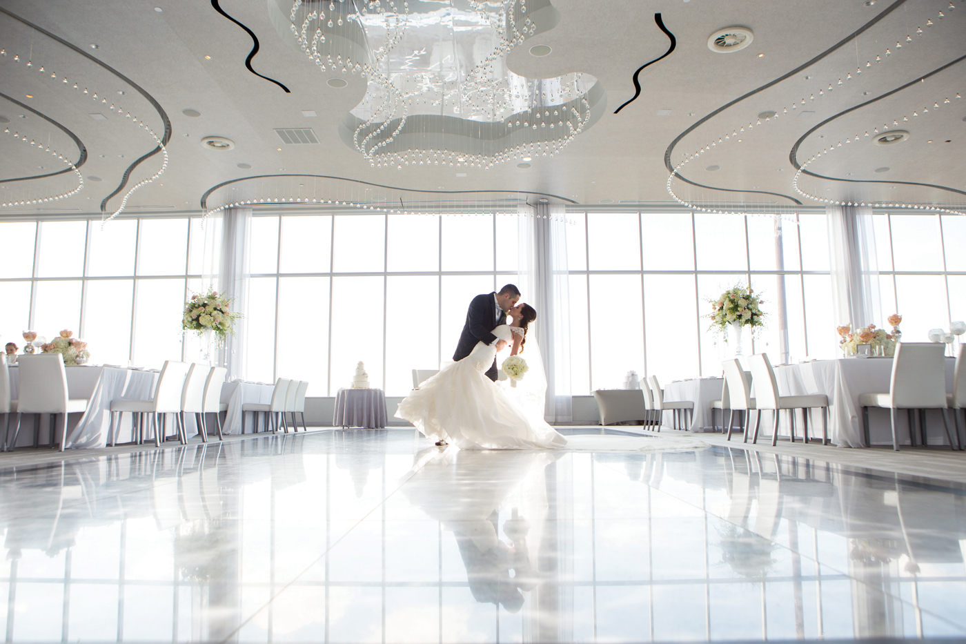 Romantic loft and penthouse wedding sites in ny and nj above staten island ny junglespirit Choice Image