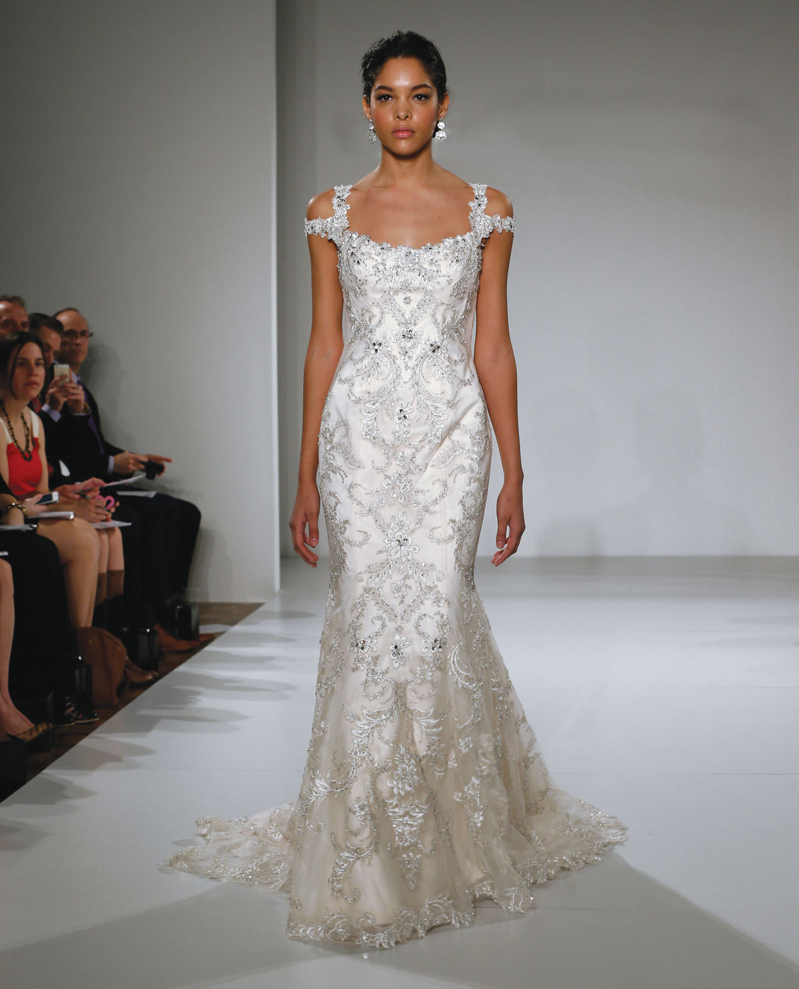 Sottero & Midgley Off-the-Shoulder Trumpet Wedding Gown: www.manhattanbride.com/gown/sottero-midgley-ettiene