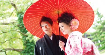 Japanese wedding traditions: Bangasa