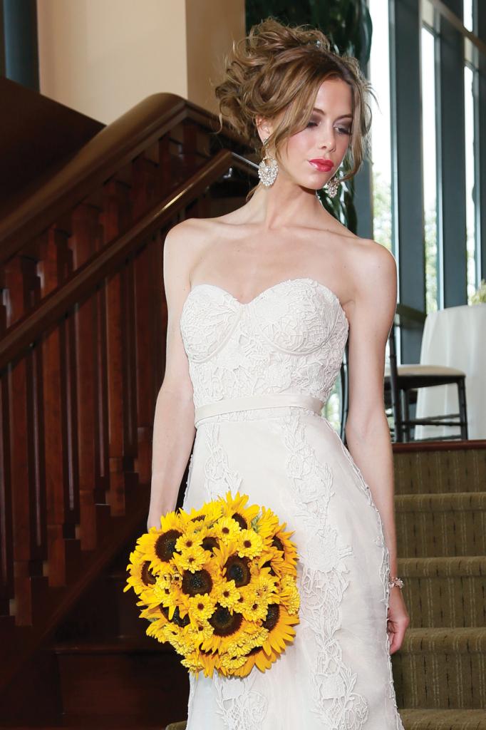 Robert Bullock Bride (Alessia, $3,035)/ 425.891.8480. Mitch Kolby Events Bouquet