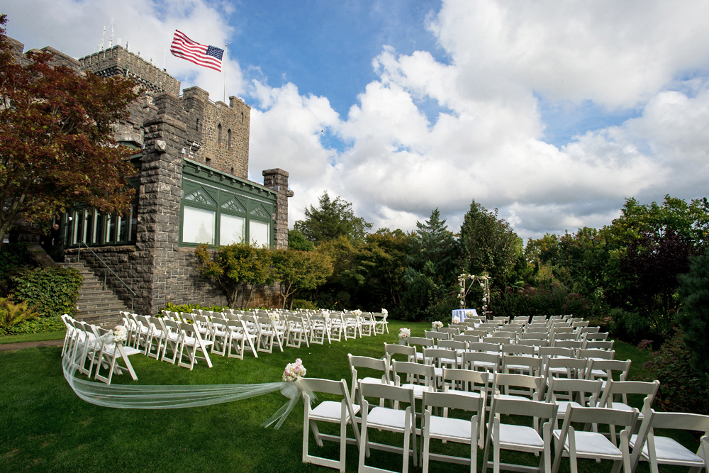 Castle Hotel & Spa, outdoor ceremony