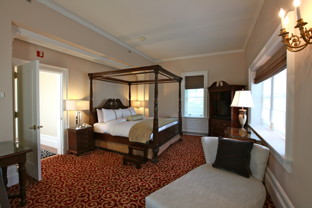 Castle Hotel & Spa, the St. Germaine Suite Bedroom