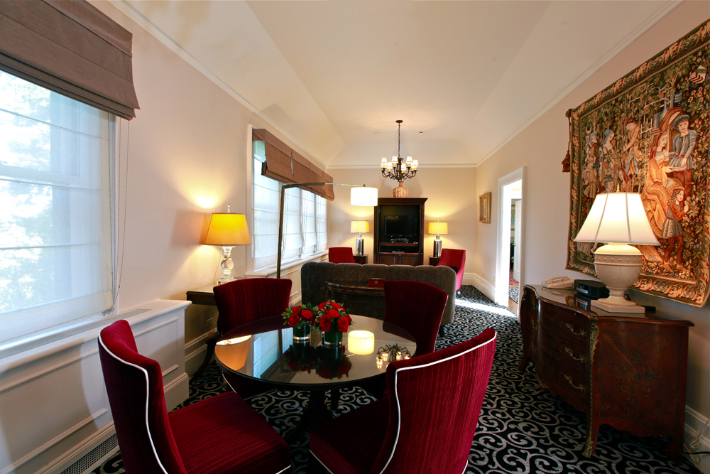 Castle Hotel & Spa, the St. Germaine Suite Living Room