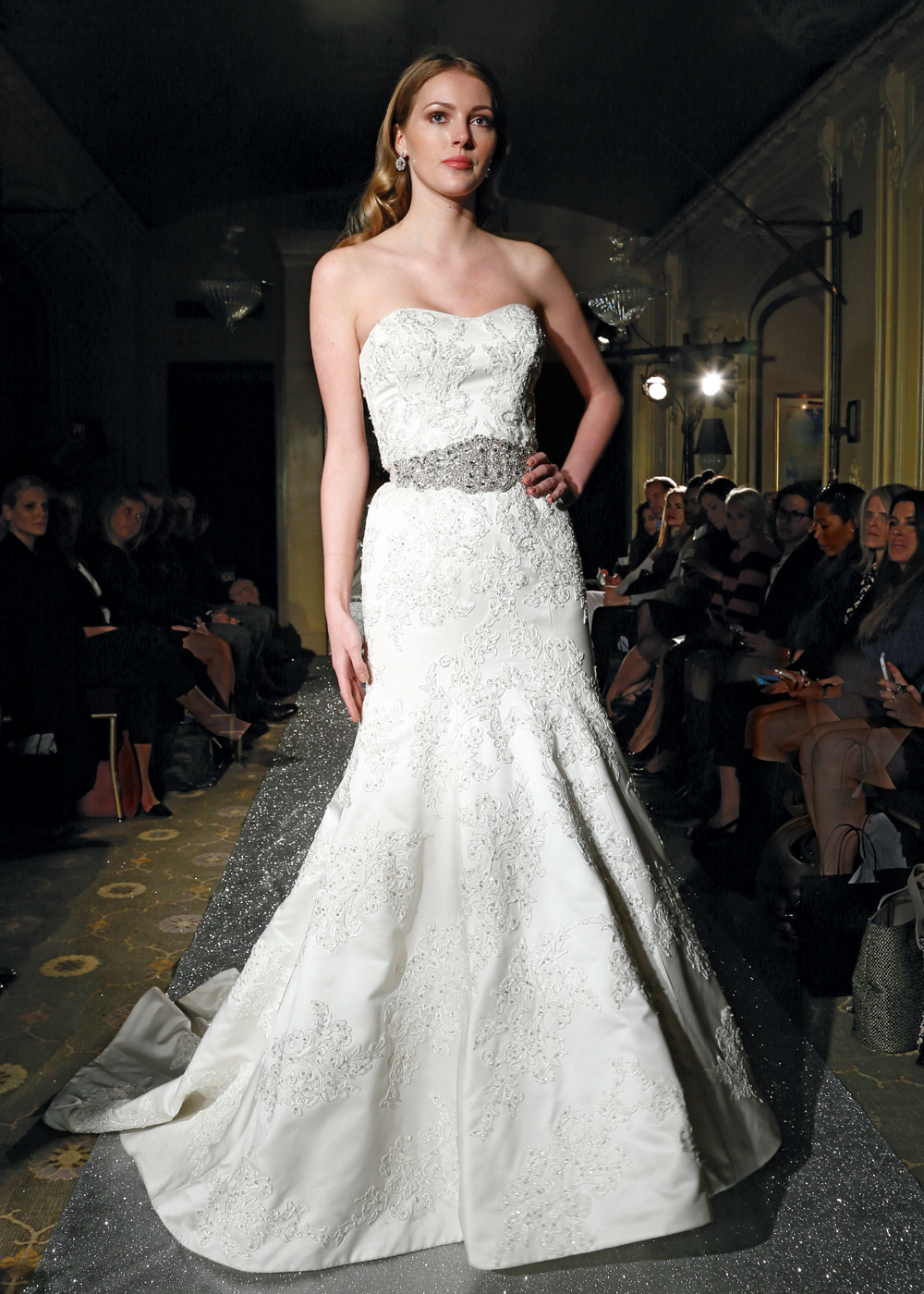 Wedding Oleg Cassini oleg cassini fall 2015 bridal runway collection on the runway