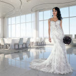 Gown: Eve of Milady (Style 4336, $5,300)