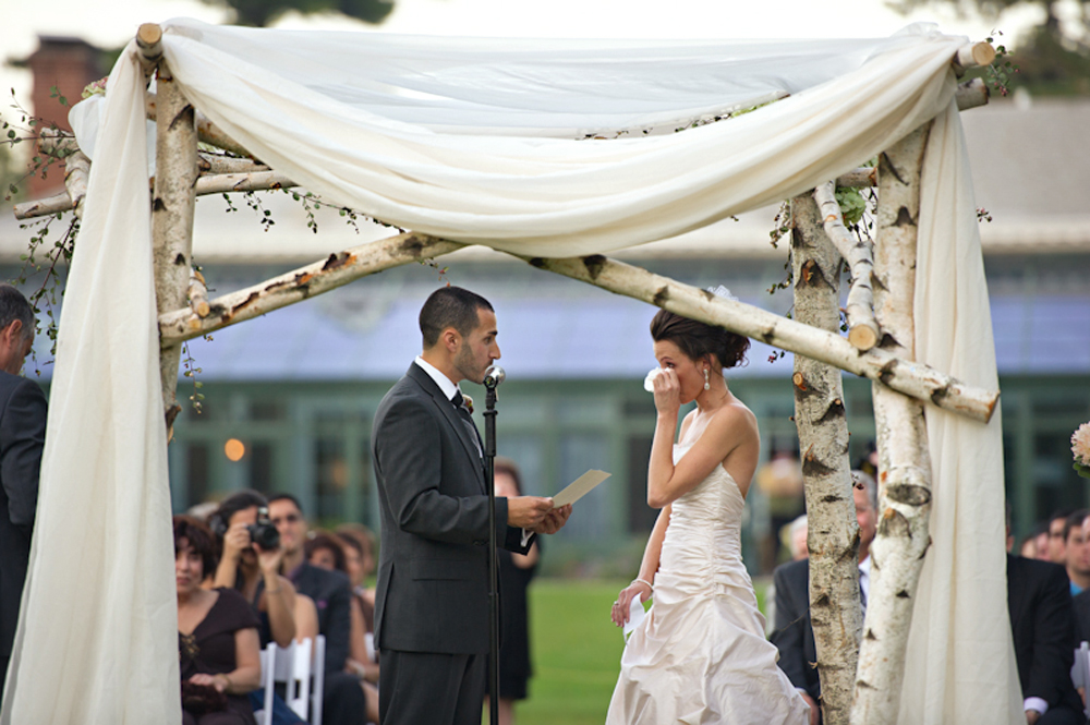 Highlands Country Club, Outdoor Ceremony