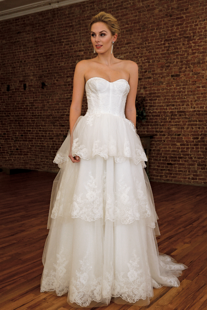 Gown from the David's Bridal Collection