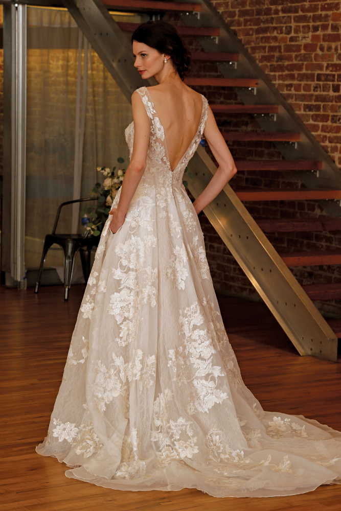 Bridal gowns at david 39 s bridal in ny nj ct for Wedding dress designer oleg cassini