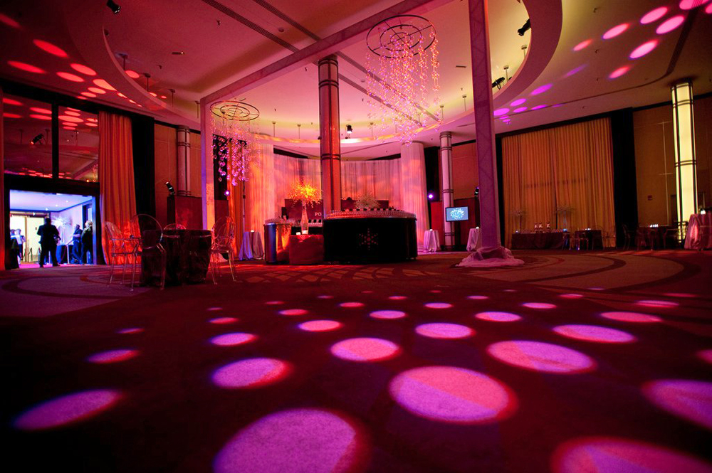 Dancefloor Lighting, Eric Visa DJ