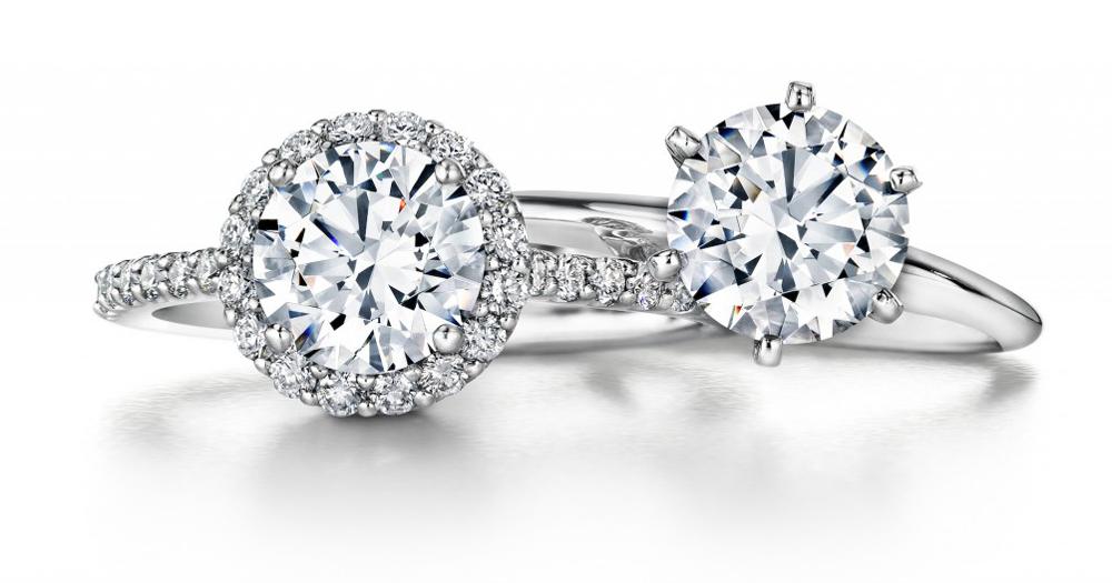 ritani round cut engagement rings - Ritani Wedding Rings