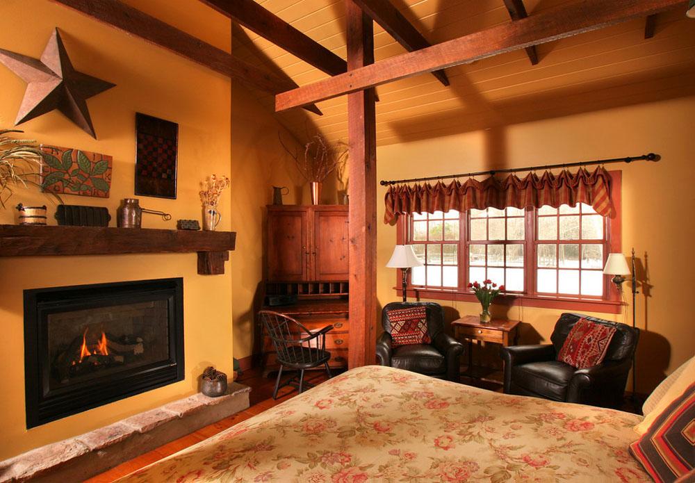 Woolverton Inn, Hunterdon Cottage Bedroom