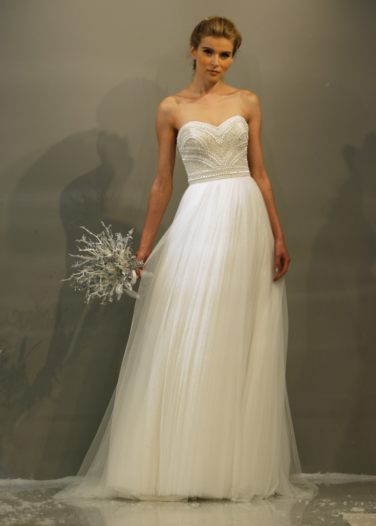 Theia a line wedding gowns in new york new jersey for Wedding dress preservation nyc