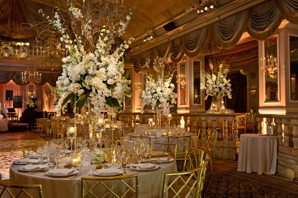 Ariston Flowers, elegant ballroom