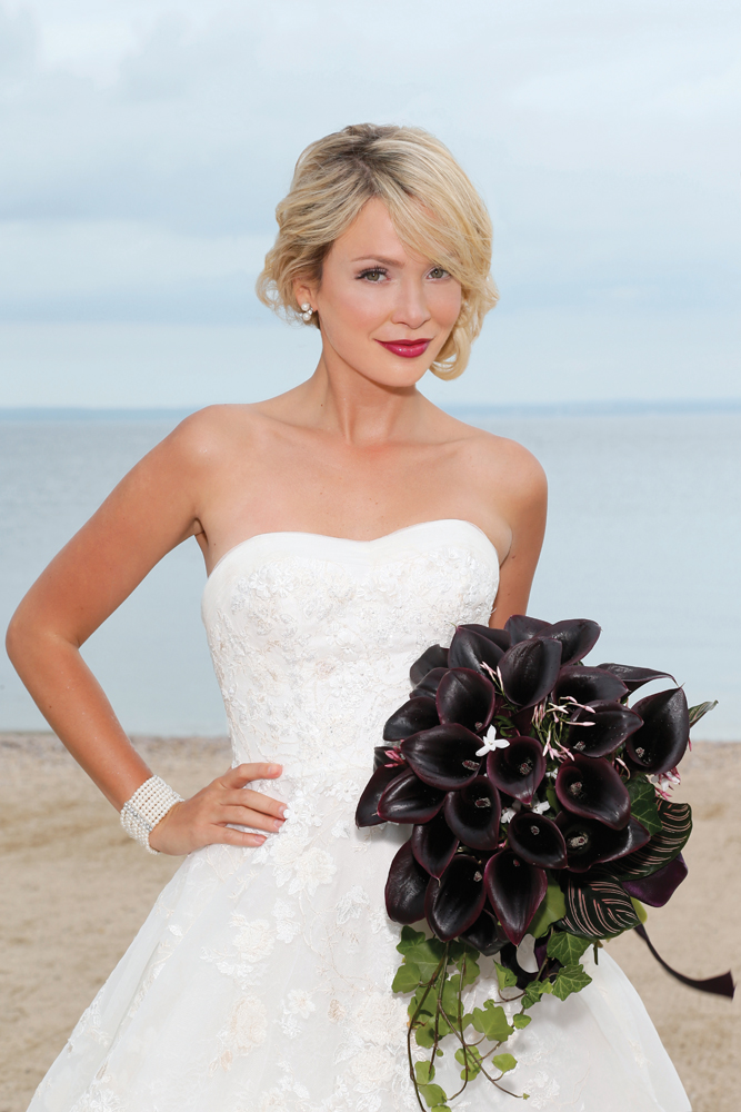 Classic Bride, Modern Style Look by Ayari's Brides