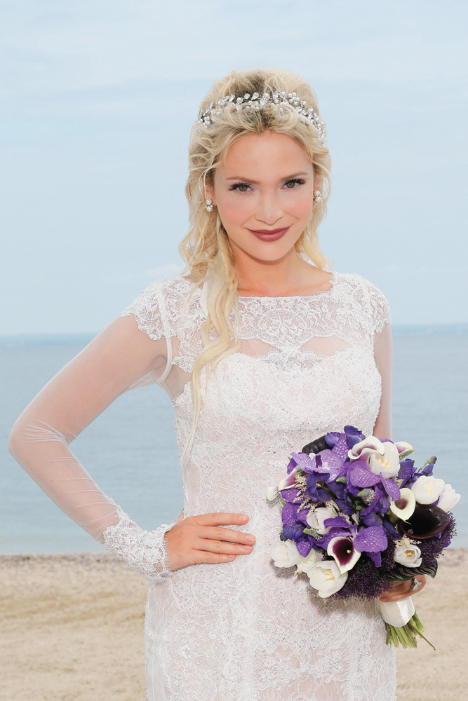 Romantic Beach Look by Ayari's Brides