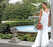 Gown: Robert Bullock Bride at Steven Birnbaum Bridal (River, $1,875)