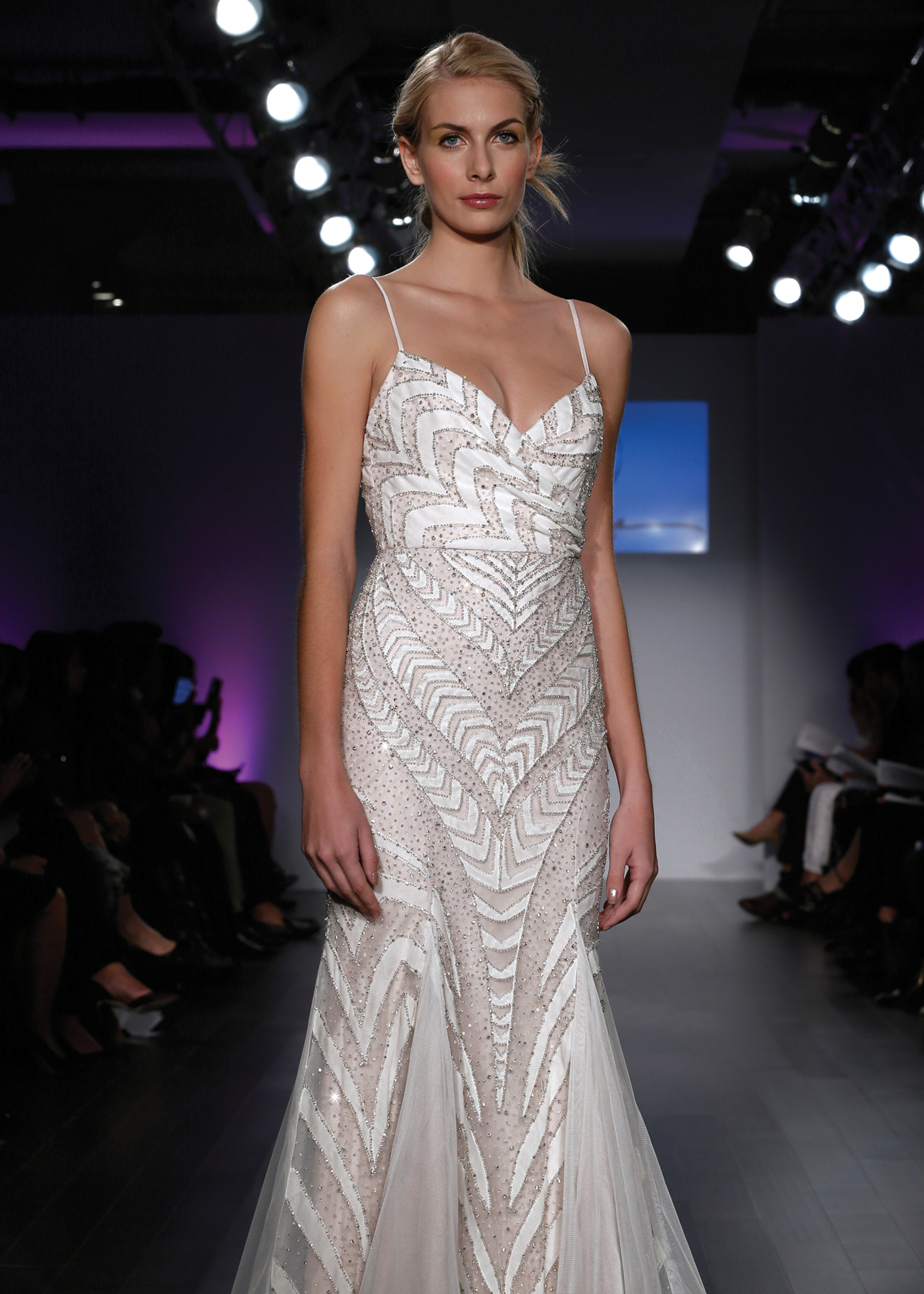 Hayley Paige Avant Garde Trumpet Wedding Gown