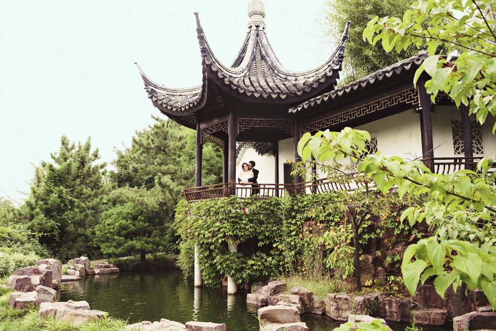 Celebrate at Snug Harbor, Chinese Scholar's Garden (Clean Plate Pictures)