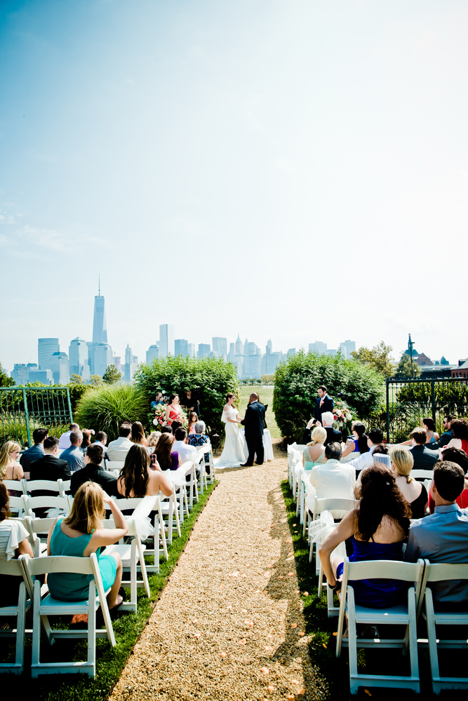 Liberty House Outdoor Ceremony