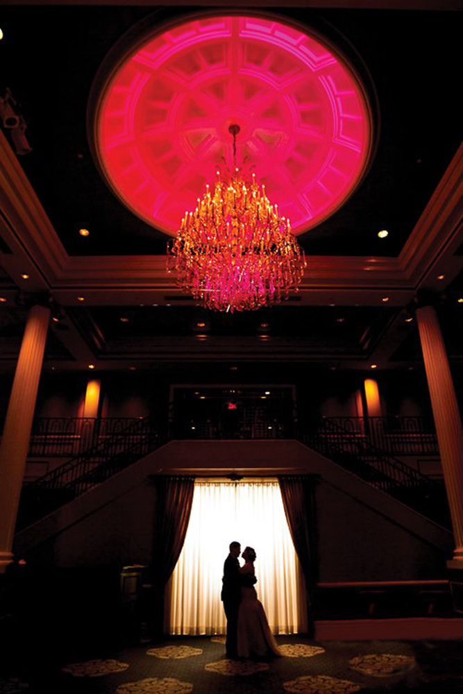 The Palace at Somerset Park, Grand Foyer (Rhinehart Photography)