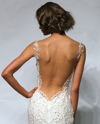 Search for Wedding Gowns with Cut-Out or Open Back Designs in NY, NJ, CT, PA