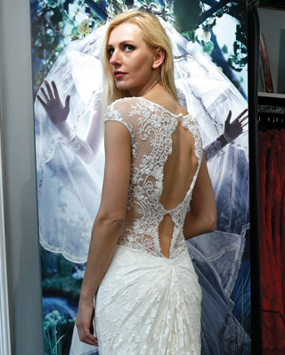 Search for Wedding Gowns with Lace Back Designs in NY, NJ, CT, PA