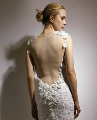 Search for Wedding Gowns with Sheer Back Designs in NY, NJ, CT, PA