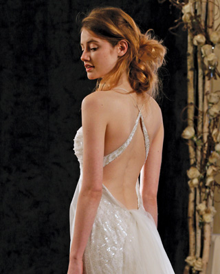 Search for Wedding Gowns with Strap Back Designs in NY, NJ, CT, PA
