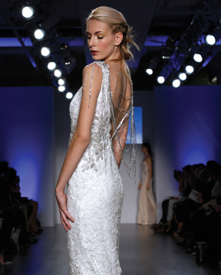 Search for Wedding Gown Back Design, Embellished to Cut-Out