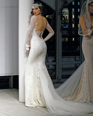 Search for Wedding Gown Train, Minimal to Large