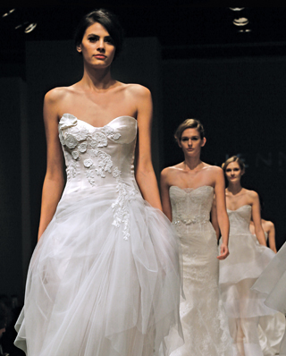 Search for Wedding Gown Waistline, Natural to Empire