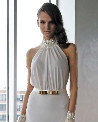 Search for Wedding Gowns with High Necklines in NY, NJ, CT, PA