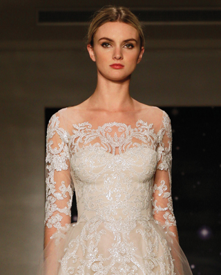 Search for Wedding Gown Necklines with Lace in NY, NJ, CT, PA