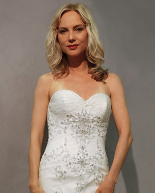 Search for Wedding Gowns with Sweetheart Necklines in NY, NJ, CT, PA