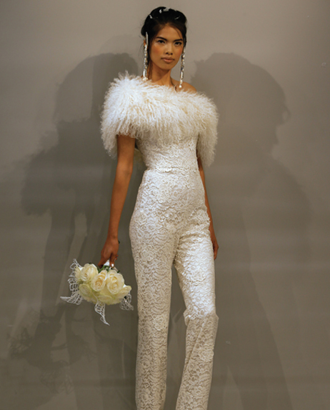 Search for Jumpsuit Wedding Gowns in NY, NJ, CT, PA