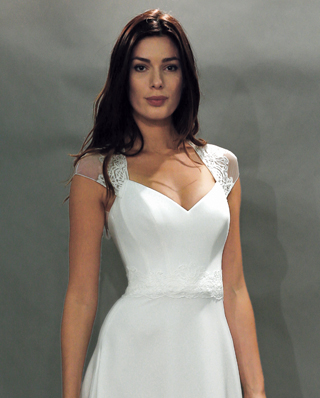 Search for Cap Sleeve Wedding Gowns in NY, NJ, CT, PA