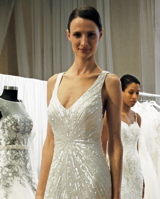 Search for Sleeveless Wedding Gowns in NY, NJ, CT, PA