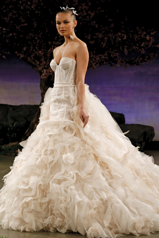 Search for Wedding Gowns with Large Trains in NY, NJ, CT, PA