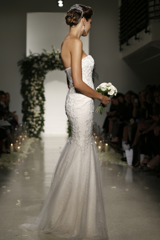 Search for Wedding Gowns with Minimal Trains in NY, NJ, CT, PA