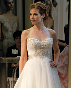 Search for Wedding Gowns with Empire Waistlines in NY, NJ, CT, PA