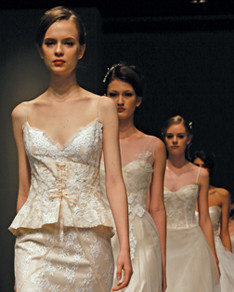 Search for Wedding Gowns with Peplum Waistlines in NY, NJ, CT, PA