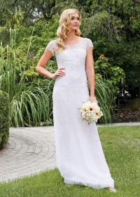 Bridal Wedding Gowns Ny Nj Embellished Back Gown