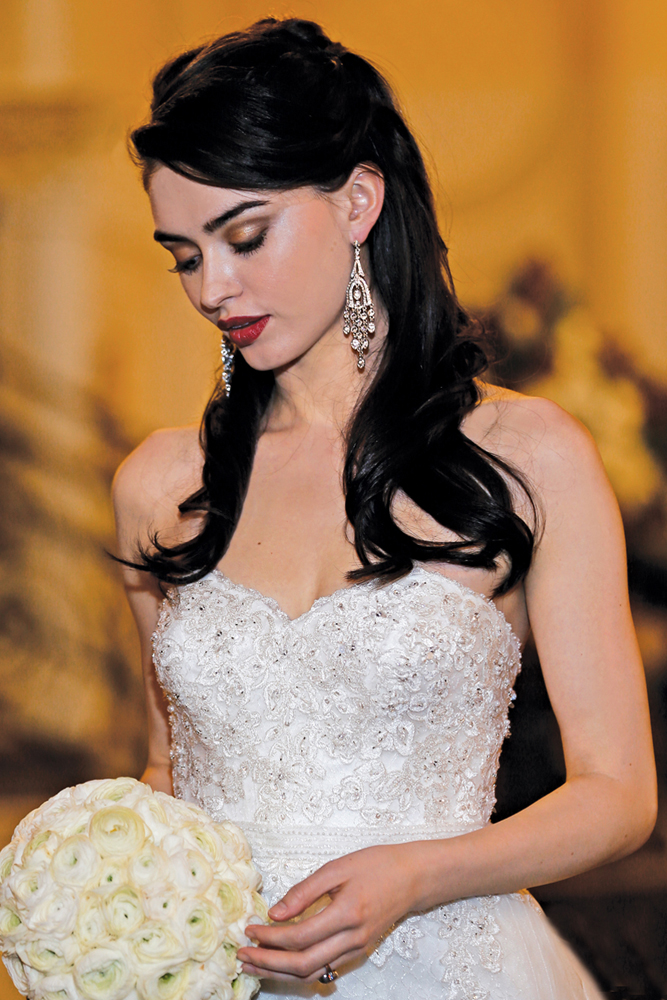 Oleg Cassini Gown, Hair & Makeup by Beauty by Terrie