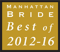 Award Manhattan Bride Best of 2012-2016