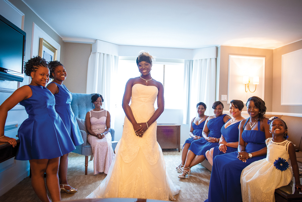 Flore Events-Ebony and her bridesmaids
