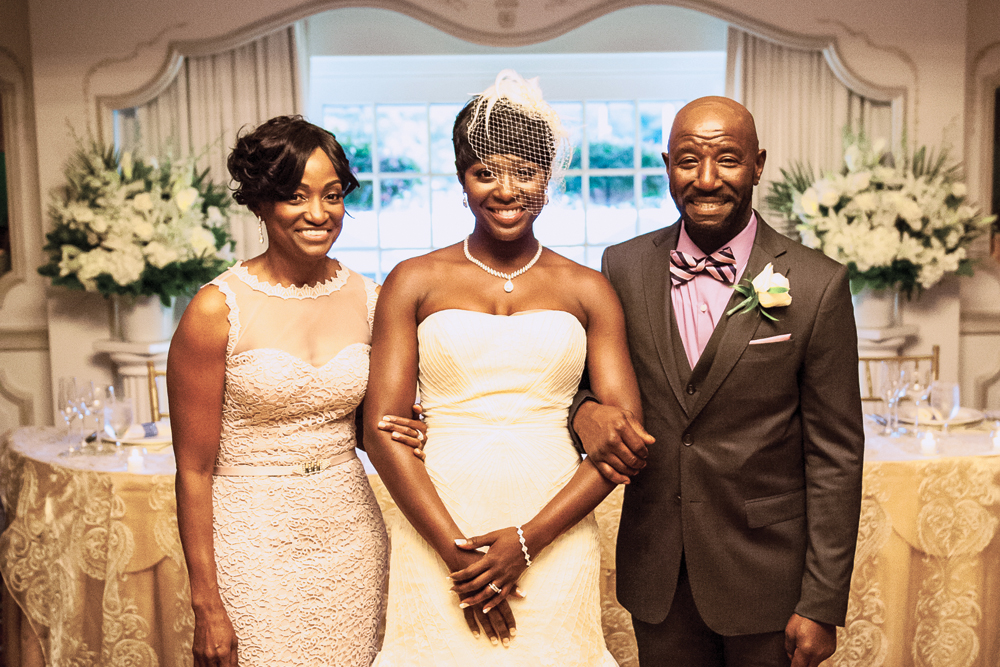 Flore Events-mother of the bride, father of the bride, and the bride