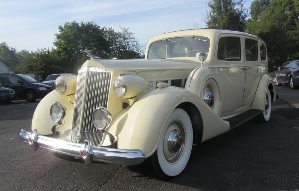 M&V Limousines, 1937 Packard Super 8 Limousine