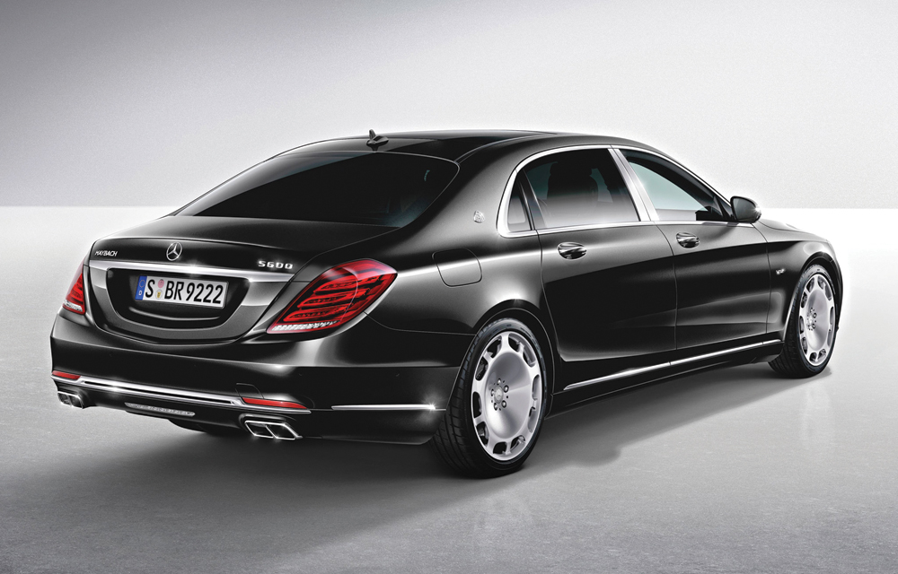 M&V Limousines, 2016 Mercedes Maybach s600