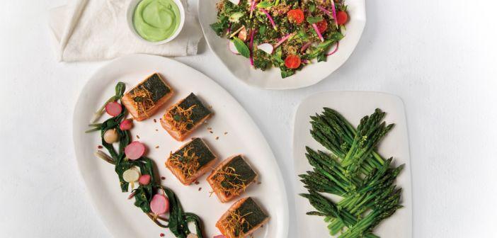 Nuhma New York, Nori-Crusted Salmon