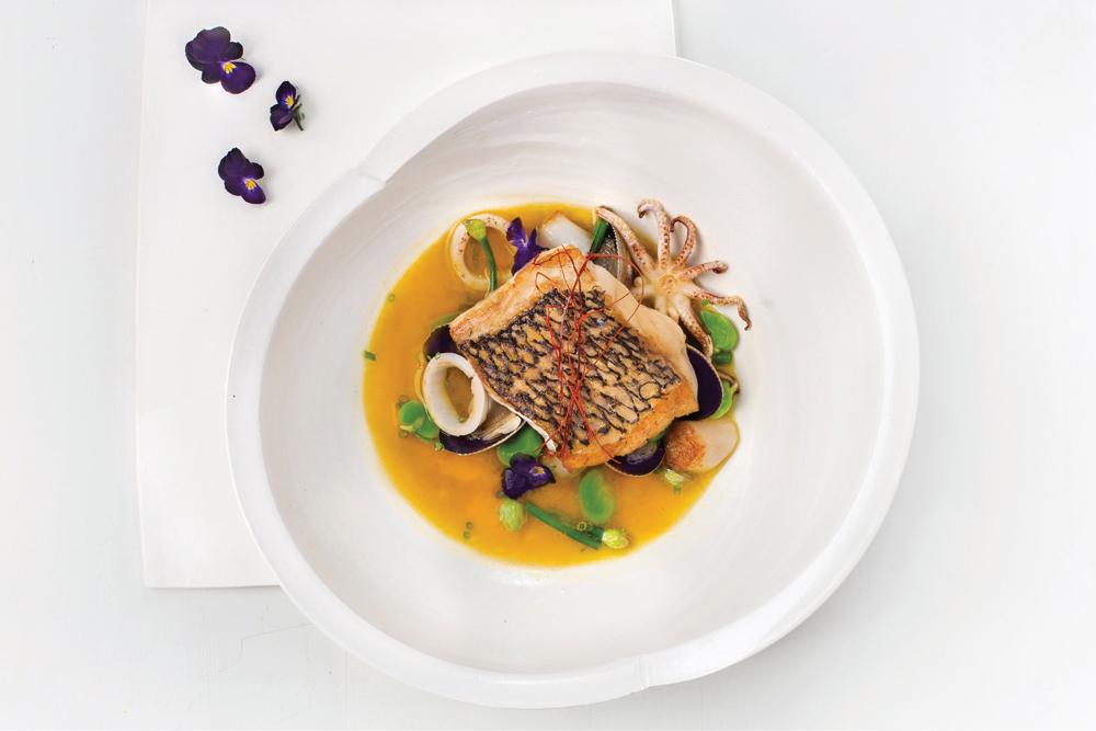Nuhma New York, Seafood Brodo